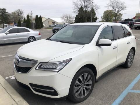 2015 Acura MDX for sale at Coast to Coast Imports in Fishers IN