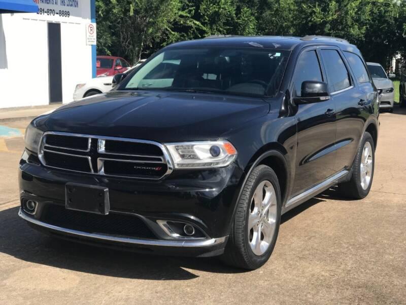 2014 Dodge Durango for sale at Discount Auto Company in Houston TX