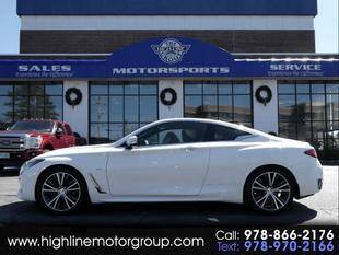 2017 Infiniti Q60 for sale at Highline Group Motorsports in Lowell MA