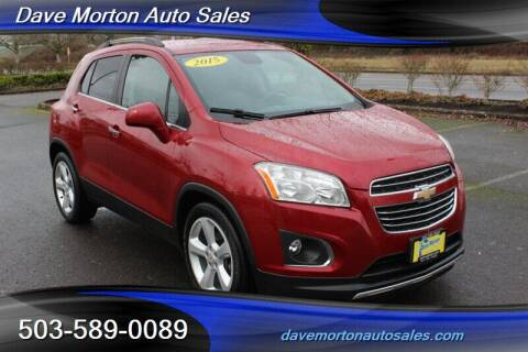 2015 Chevrolet Trax for sale at Dave Morton Auto Sales in Salem OR