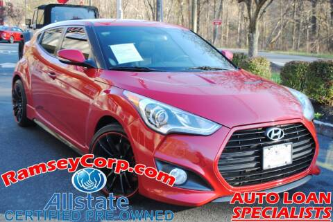 2013 Hyundai Veloster for sale at Ramsey Corp. in West Milford NJ