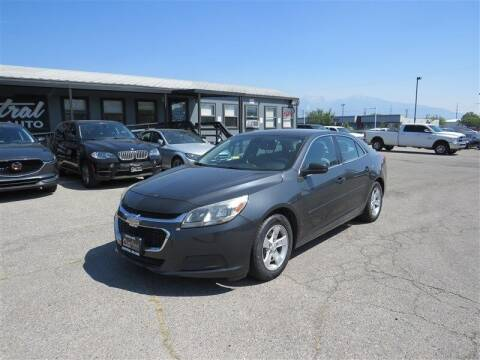 2015 Chevrolet Malibu for sale at Central Auto in South Salt Lake UT