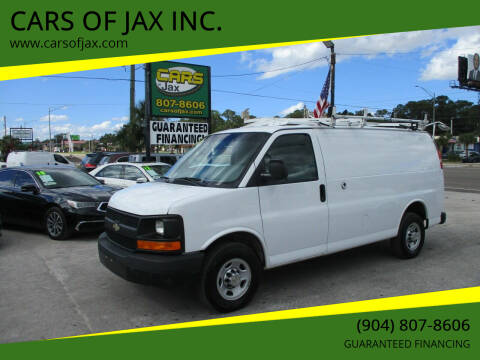 2014 Chevrolet Express Cargo for sale at CARS OF JAX INC. in Jacksonville FL