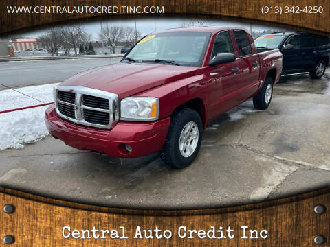 2006 Dodge Dakota for sale at Central Auto Credit Inc in Kansas City KS