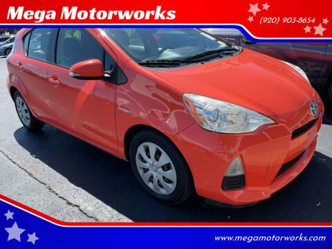 2013 Toyota Prius c for sale at Mega Motorworks in Appleton WI