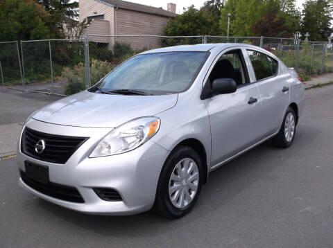 2014 Nissan Versa for sale at Eastside Motor Company in Kirkland WA