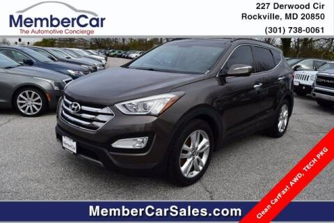 2014 Hyundai Santa Fe Sport for sale at MemberCar in Rockville MD