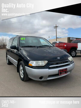 2001 Nissan Quest for sale at Quality Auto City Inc. in Laramie WY