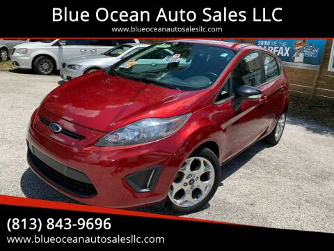 2013 Ford Fiesta for sale at Blue Ocean Auto Sales LLC in Tampa FL