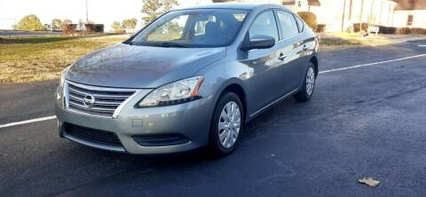 2013 Nissan Sentra for sale at Alfa Auto Sales in Raleigh NC