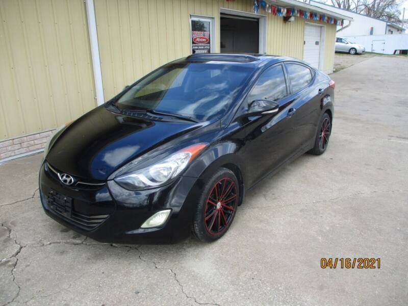 2013 Hyundai Elantra for sale at Lincoln Way Motors II in Cedar Rapids IA