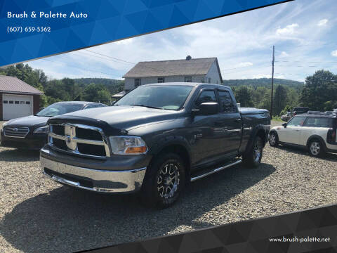 2009 Dodge Ram Pickup 1500 for sale at Brush & Palette Auto in Candor NY