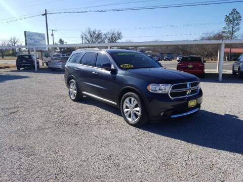 2013 Dodge Durango for sale at Bostick's Auto & Truck Sales in Brownwood TX