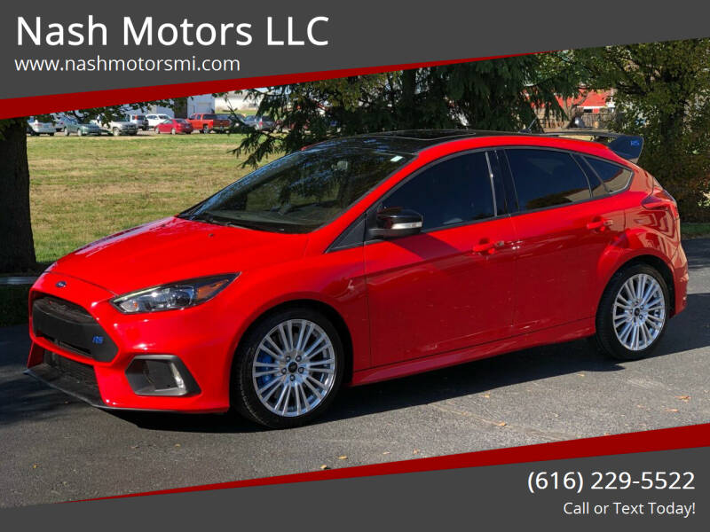 2018 Ford Focus for sale at Nash Motors LLC in Hudsonville MI