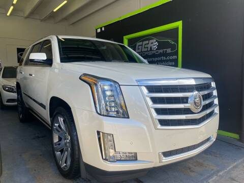 2015 Cadillac Escalade for sale at GCR MOTORSPORTS in Hollywood FL