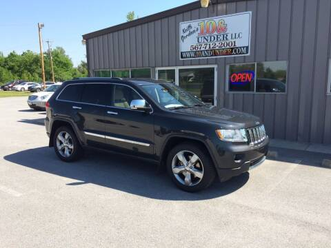 2011 Jeep Grand Cherokee for sale at KEITH JORDAN'S 10 & UNDER in Lima OH
