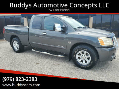 2004 Nissan Titan for sale at Buddys Automotive Concepts LLC in Bryan TX