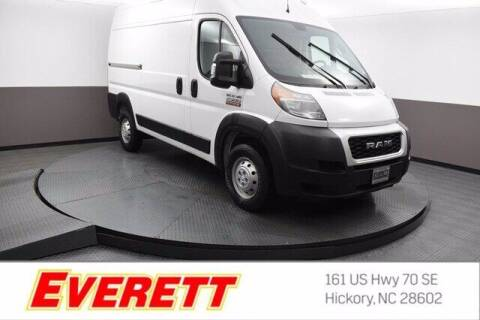 2019 RAM ProMaster Cargo for sale at Everett Chevrolet Buick GMC in Hickory NC