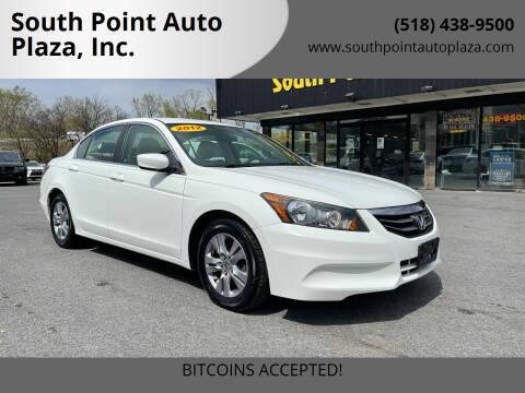 2012 Honda Accord for sale at South Point Auto Plaza, Inc. in Albany NY