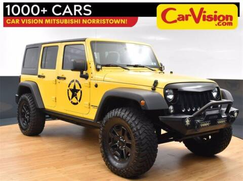 2015 Jeep Wrangler Unlimited for sale at Car Vision Buying Center in Norristown PA