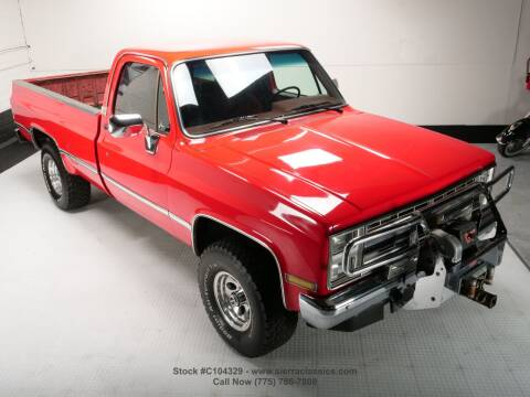 1987 Chevrolet R/V 10 Series for sale at Sierra Classics & Imports in Reno NV