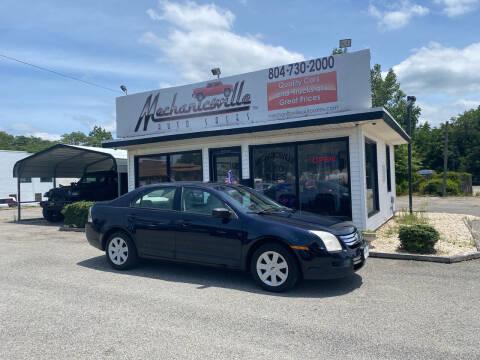 2008 Ford Fusion for sale at Mechanicsville Auto Sales in Mechanicsville VA