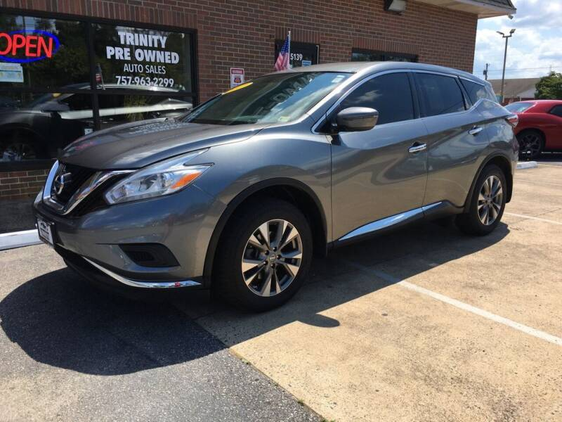 2017 Nissan Murano for sale at Bankruptcy Car Financing in Norfolk VA