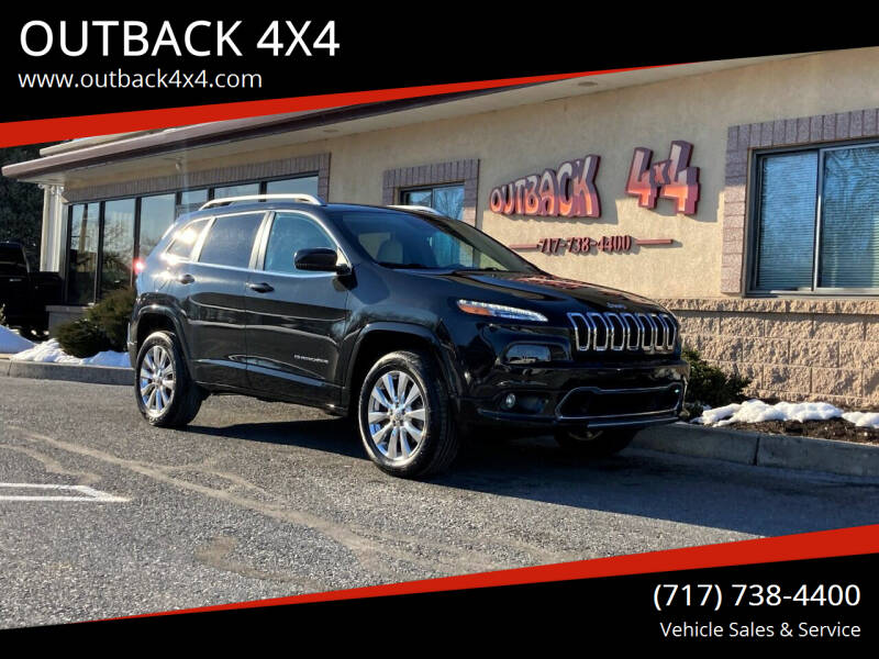 2016 Jeep Cherokee for sale at OUTBACK 4X4 in Ephrata PA