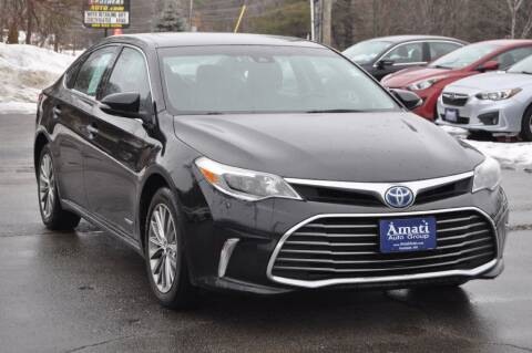 2016 Toyota Avalon Hybrid for sale at Amati Auto Group in Hooksett NH