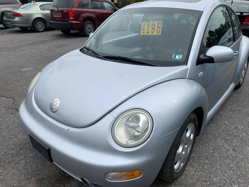 2002 Volkswagen New Beetle for sale at BURNWORTH AUTO INC in Windber PA