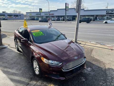 2016 Ford Fusion for sale at JBA Auto Sales Inc in Stone Park IL