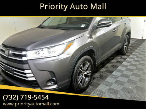 2017 Toyota Highlander for sale at Mr. Minivans Auto Sales - Priority Auto Mall in Lakewood NJ