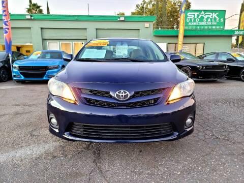 2011 Toyota Corolla for sale at Stark Auto Sales in Modesto CA