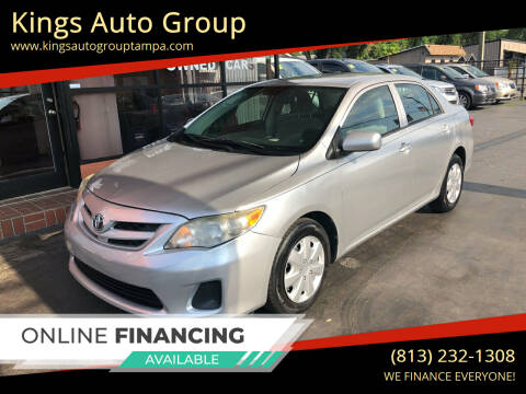 2012 Toyota Corolla for sale at Kings Auto Group in Tampa FL