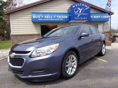 2015 Chevrolet Malibu for sale at VanderHaag Car Sales LLC in Scottville MI