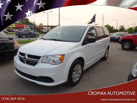2017 Dodge Grand Caravan for sale at Cromax Automotive in Ann Arbor MI