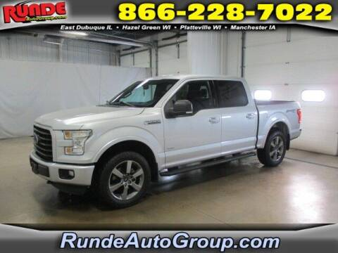 2016 Ford F-150 for sale at Runde PreDriven in Hazel Green WI