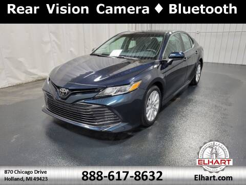 2018 Toyota Camry for sale at Elhart Automotive Campus in Holland MI