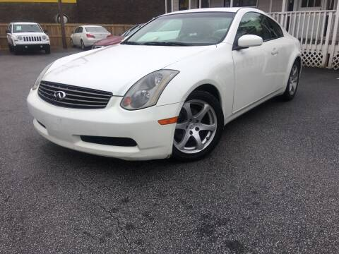 2004 Infiniti G35 for sale at Georgia Car Shop in Marietta GA