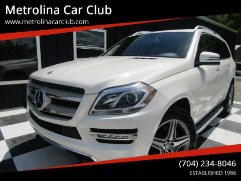 2014 Mercedes-Benz GL-Class for sale at Metrolina Car Club in Matthews NC