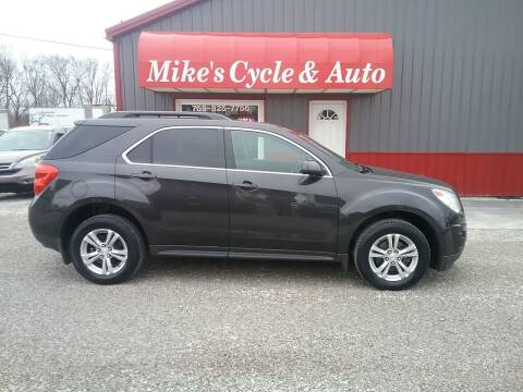 2015 Chevrolet Equinox for sale at MIKE'S CYCLE & AUTO in Connersville IN