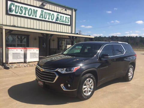 2018 Chevrolet Traverse for sale at Custom Auto Sales - AUTOS in Longview TX