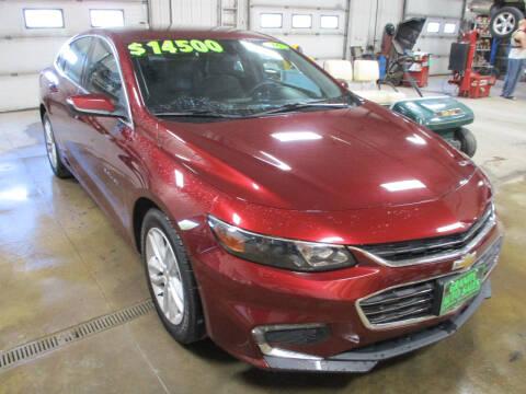 2016 Chevrolet Malibu for sale at Granite Auto Sales in Redgranite WI