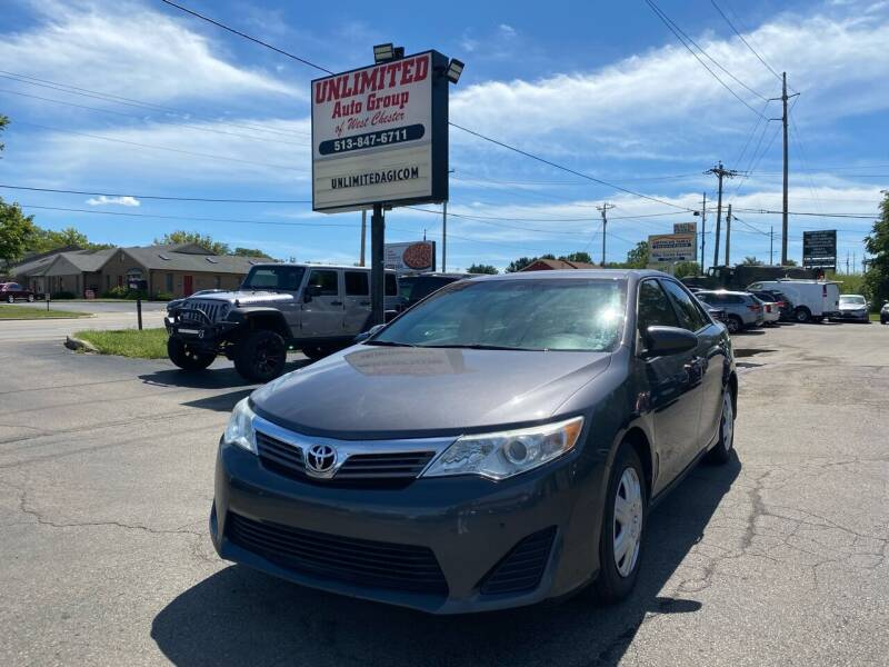 2014 Toyota Camry for sale at Unlimited Auto Group in West Chester OH