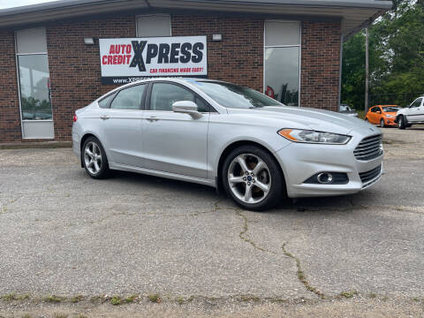 2015 Ford Fusion for sale at Auto Credit Xpress in Benton AR