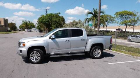2017 GMC Canyon for sale at Quality Motors Truck Center in Miami FL