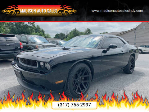 2014 Dodge Challenger for sale at MADISON AUTO SALES in Indianapolis IN