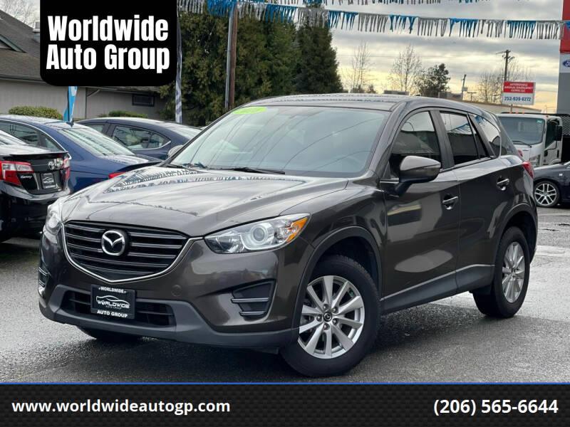 2016 Mazda CX-5 for sale at Worldwide Auto Group in Auburn WA