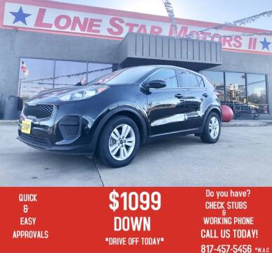 2017 Kia Sportage for sale at LONE STAR MOTORS II in Fort Worth TX
