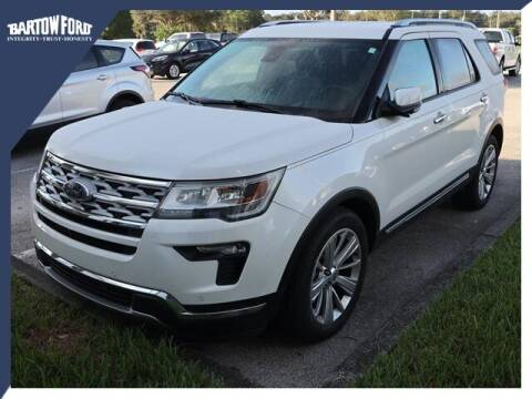 2019 Ford Explorer for sale at BARTOW FORD CO. in Bartow FL